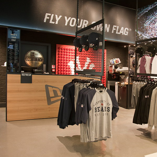 New Era Unveils New Retail Concept in Westfield Stratford by Checkland Kindleysides