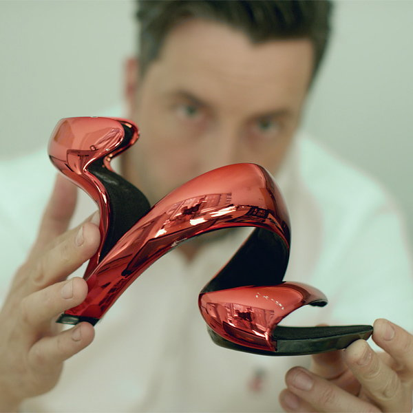 3D Printed Mojito Shoe by Julian Hakes