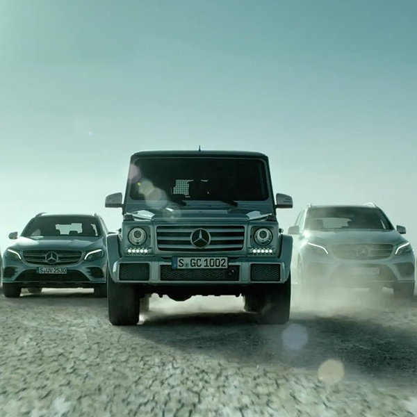 William Armstrong Directs Celebrity-studded Mercedes-Benz SUV Campaign