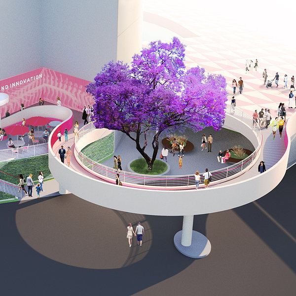 Michael Maltzan to Redesign Public Plaza of Segerstrom Center in Orange County, CA