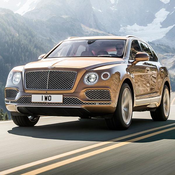 Bentley Unveils Bentayga