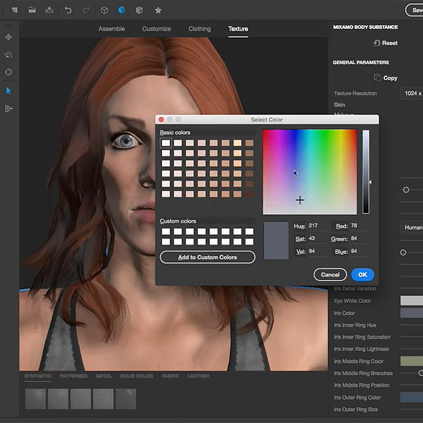 3D Design Tricks with Adobe Fuse - Customizing Faces