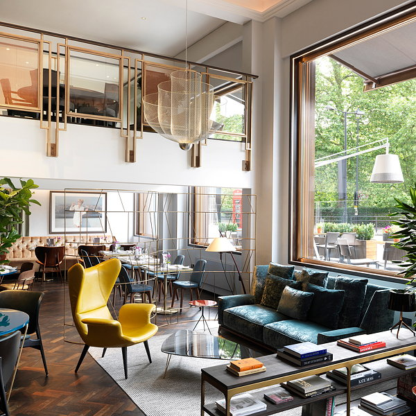 Kinnersley Kent Design Redesigns Athenaeum Hotel Residences