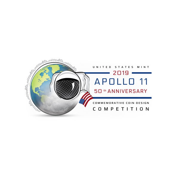 Apollo 11 50th Anniversary Public Coin Design Competition