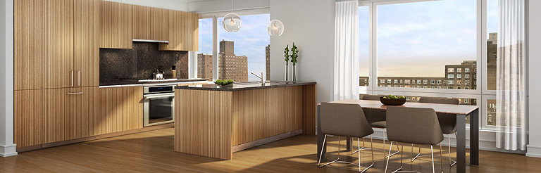Andre Kikoski Architect Designs Interiors of New Residential Tower at 1280 Fifth Avenue