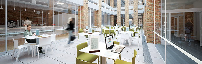 Woods Bagot Re-Design University of Sussex Library for the New Agile Student