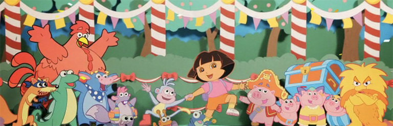 yU+co Show Open for Dora's Big Birthday Adventure