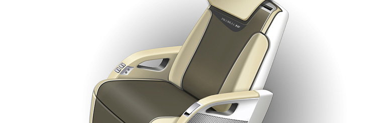 DesignworksUSA Designs Business Jet Seats for Premium Manufacturer Iacobucci HF