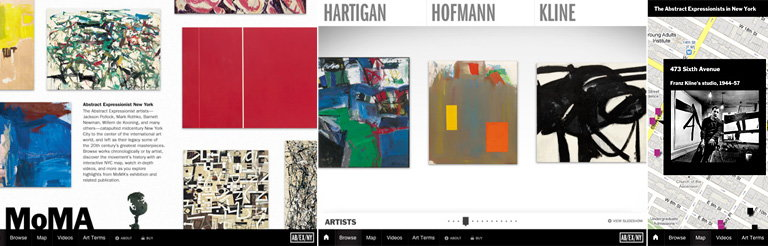 MoMA Debuts Free iPad App in Conjunction with the Exhibition Abstract Expressionist New York