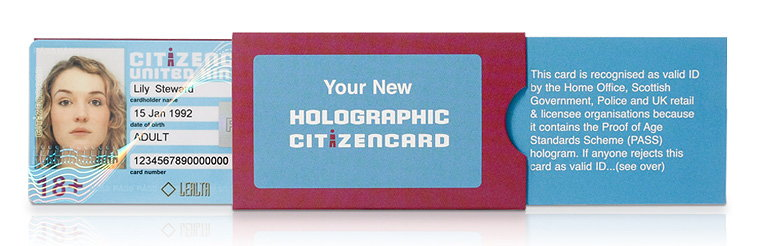 The New Holographic CitizenCard Debuts on the Market in a Smart Slider Pack