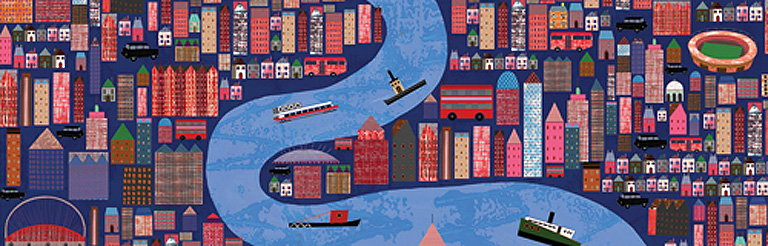 The Serco Prize for Illustration River Thames Exhibition
