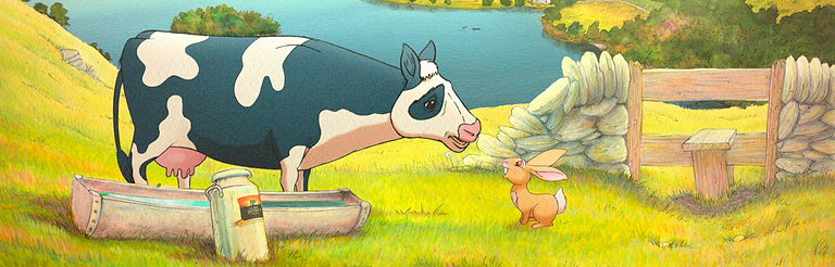 Sylvain Chomet Creates an Animated Cartoon Advert for Lake District Cheddar