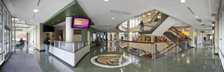 Nation's First 21st Century Public Four-year College Opens Student Center