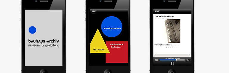 Bauhaus Archive - First Bauhaus App Brings Modernist Art School to Web 2.0