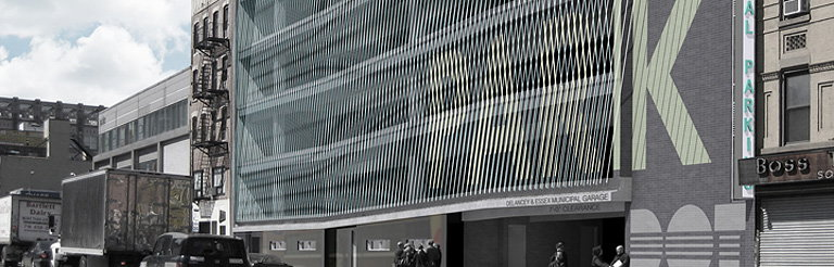 NYC Downtown Garage to Get Innovative Cable Facade by Michielli and Wyetzner Architects
