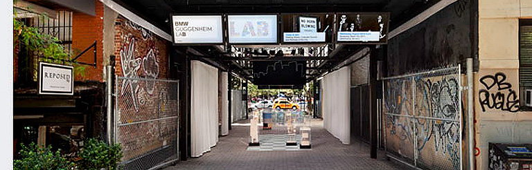 BMW Guggenheim Lab Opens Tomorrow in New York