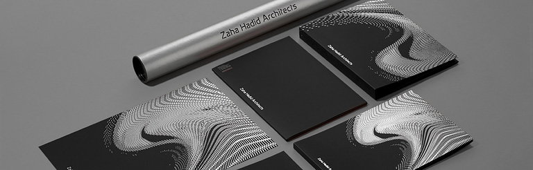 Zaha Hadid Architects New Identity and Website Showcases Breadth of Work