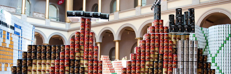 Leo A Daly Wins Juror's Favorite Award at D.C. CANstruction