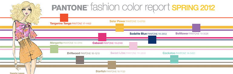 0b2e400cbc4bab Pantone Fashion Color Report Spring 2012  A Lively