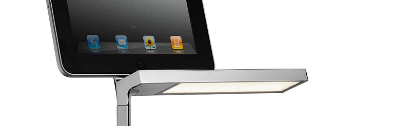 D'E-light by Philippe Starck - Task Light and iPad Dock