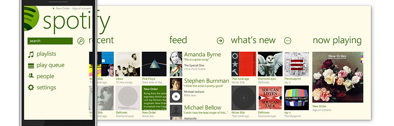Spotify for Windows Phone 7 5