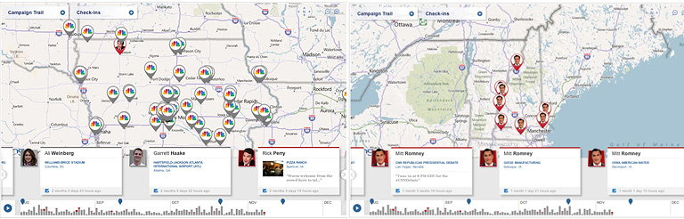 NBCPolitics Partners with foursquare to Launch Presidential Election Campaign Check-Ins