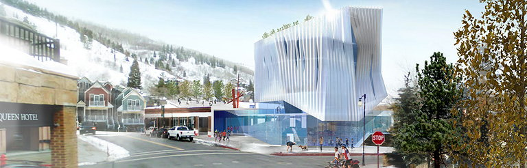 Brooks and Scarpa Unveils Proposal for The Kimball Art Center