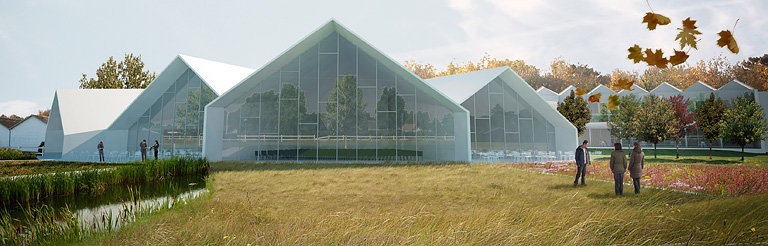 Green Solution House - Conference Center Will Take Sustainability to a New Level