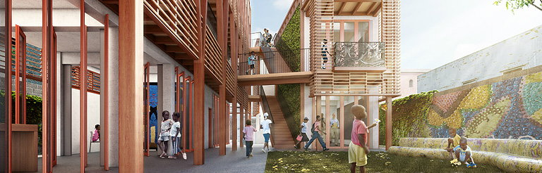 HOK Partners with USGBC on Design of New Orphanage and Children's Center in Haiti
