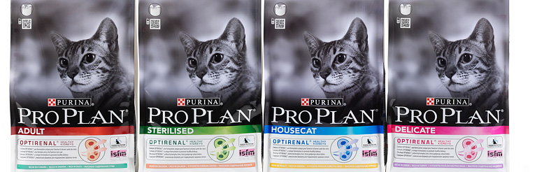 Seymourpowell Creates New Look for Nestle Purina's PRO PLAN Catfood Brand