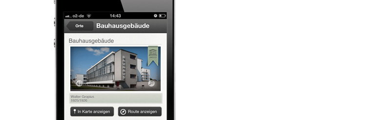BauhausGuide - The App for the Bauhaus