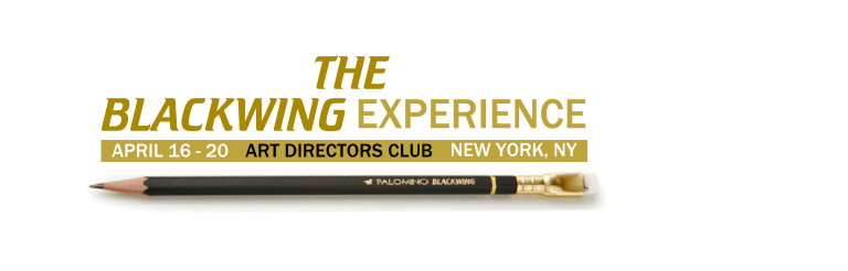 Celebrating the Pencil - The Blackwing Experience at ADC Gallery