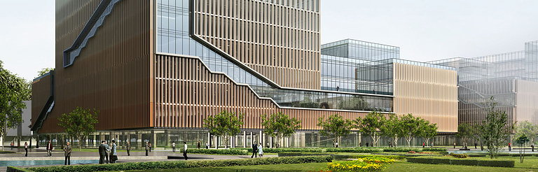 China Mobile Selected Leo A Daly to Design Three Buildings at Its New International Headquarters Campus