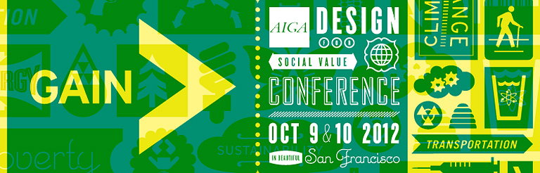 Gain - AIGA Design for Social Value Conference