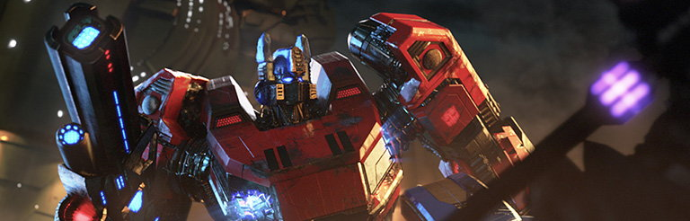 Second Teaser for Transformers - Fall of Cybertron Video Game by Mothership and Digital Domain