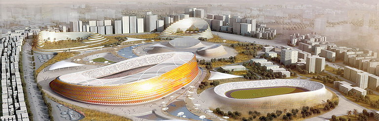 LAVA Designs New National Stadium and Sports Village for Ethiopia