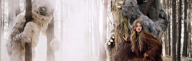 A Forest Fairytale - Mulberry Launches Its Autumn Winter 2012 Campaign
