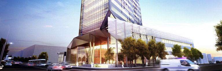 Woods Bagot Designs $230M Police Complex in Melbourne