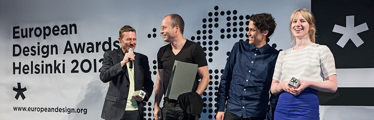 Winners of the 2012 European Design Awards