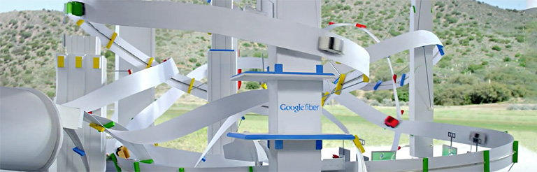 Venables Bell and Partners and 1st Avenue Machine Created Toy Car World for Google Fiber