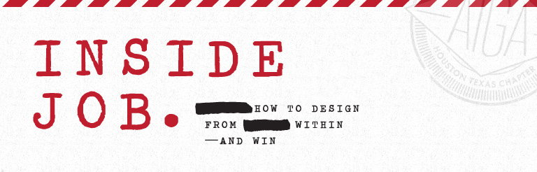 Inside Job - In-house Design Conference