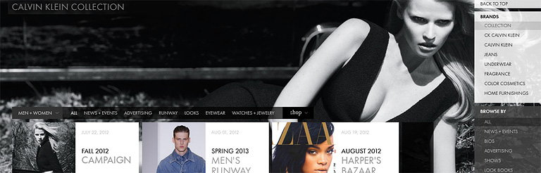 AKQA Creates New Website for Calvin Klein