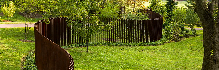 Archer Amp Buchanan S Cattail Fence Wins Design Award