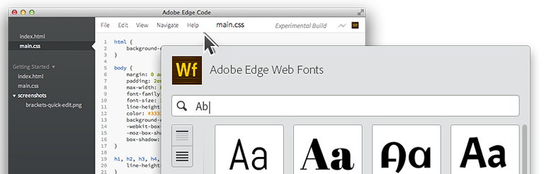Adobe Edge Tools and Services