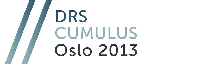 DRS CUMULUS Oslo 2013 - Call for Papers