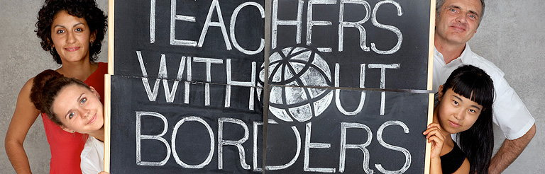 Fabrica Launches New Logo and Ad Campaign for Teachers Without Borders
