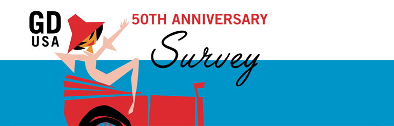 GDUSA Launches 50th Anniversary Design Community Survey