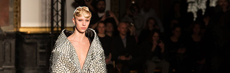 3D Printed Pieces Hit Paris Fashion Week at Iris van Herpen Show