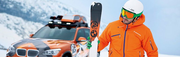 BMW Group DesignworksUSA and K2 Bring New Ski Design on the Slopes