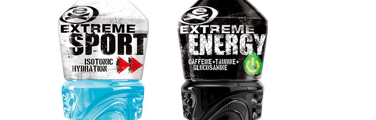 Bluemarlin Designs Packaging for Extreme Sport and Energy Drink